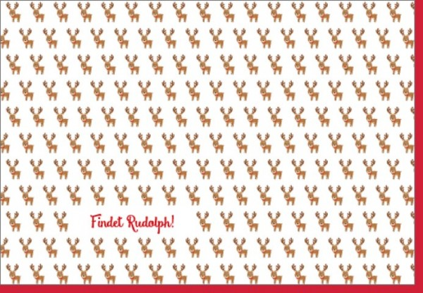 Umschlagk. Findet Rudolph