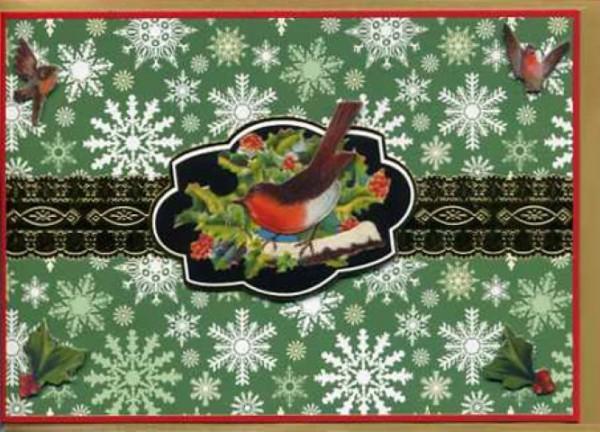 Umschlagk. Victorian Robin