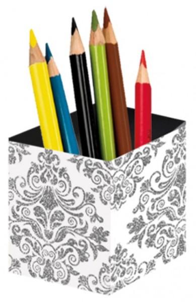 Stifteköcher Silver Tapestry