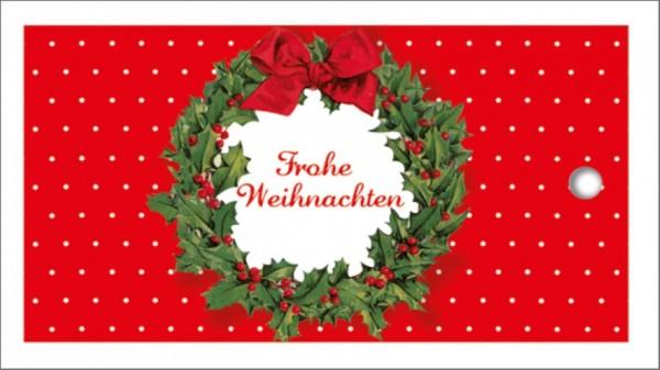Tags Weihnachtskranz