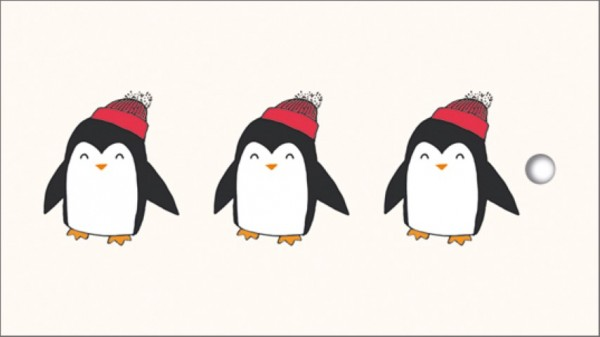 Tags Pingu in der Reihe