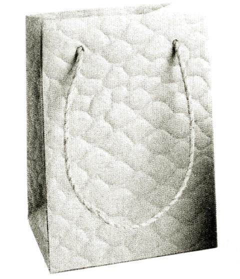Snake Bag creme 16x11,5x11,5