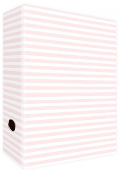 Ringordner A4 Pink Stripes & Dots