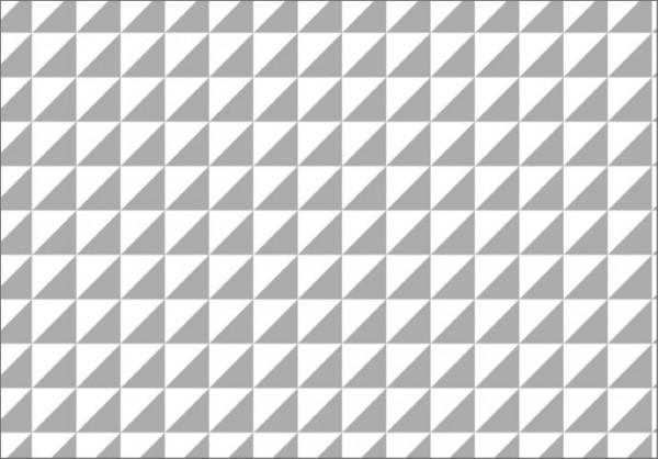 Dreiecke grau 50x70
