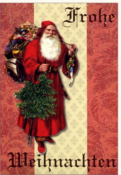 Umschlagk. Frohe Weihnachten Gl