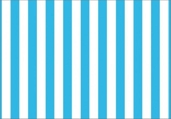 Streifen hellblau 50x70
