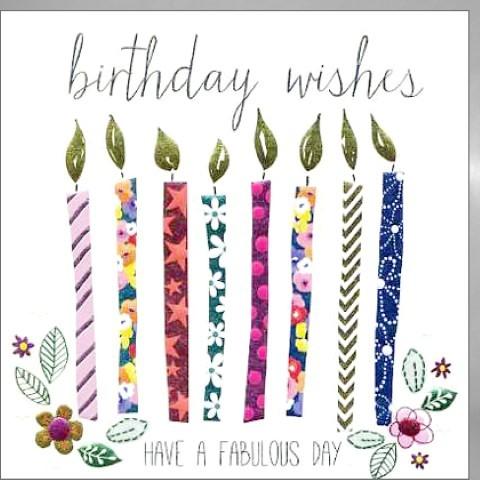 Umschlagk. Birthday Wishes