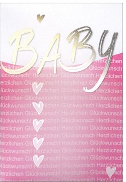 Umschlagk. Baby rosa