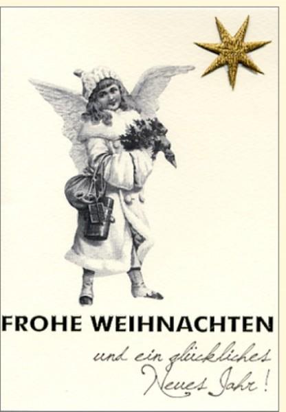 Umschlagk. Fr. Weihnachten/Goldstern