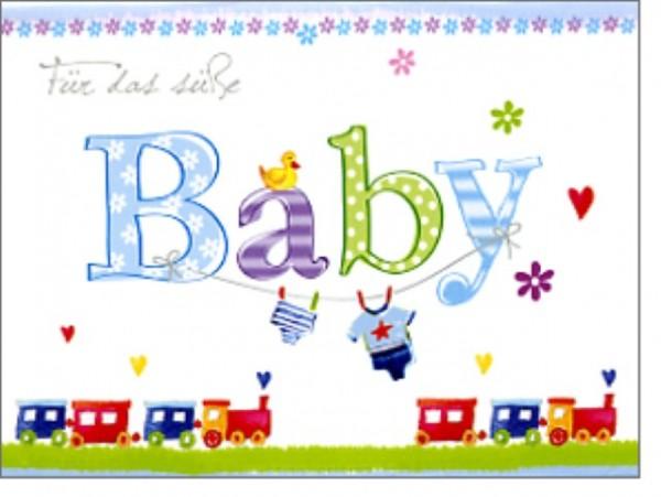 Minik. süßes Baby blau