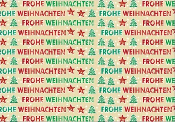 Frohe Weihnachten 50x70