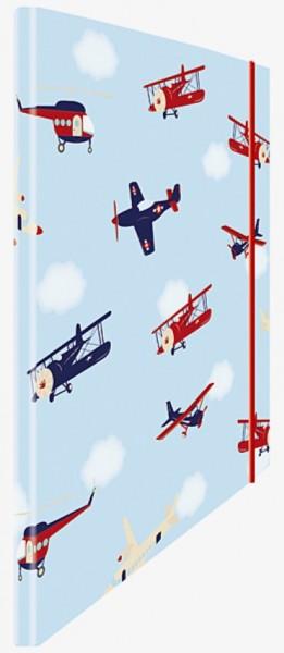 Eckspannmappe Airplanes