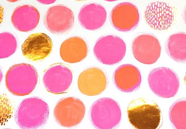 Neon Spots pink/orange