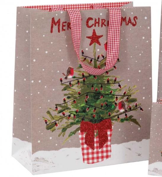 Weihnachtsbaum Bag large