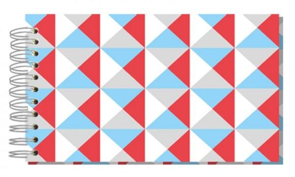 Fotoalbum 13x18 Bunte Dreiecke