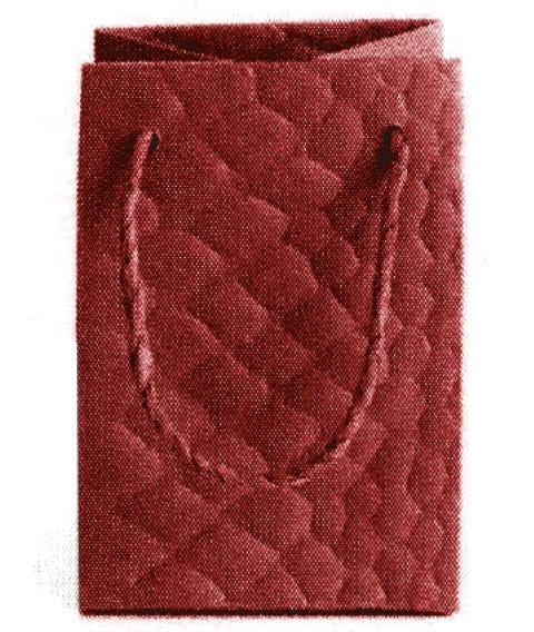 Snake Bag rot 11x8x8