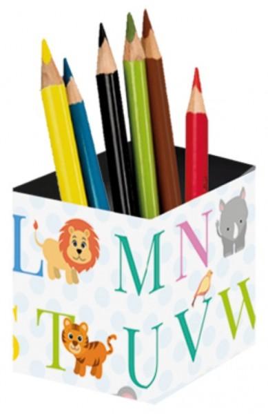 Stifteköcher Tier ABC