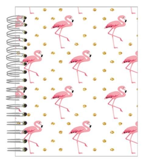 Buch A5 Sparkling Flamingo