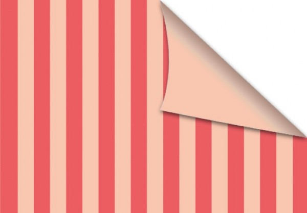 Rose Pink Stripes 50x70