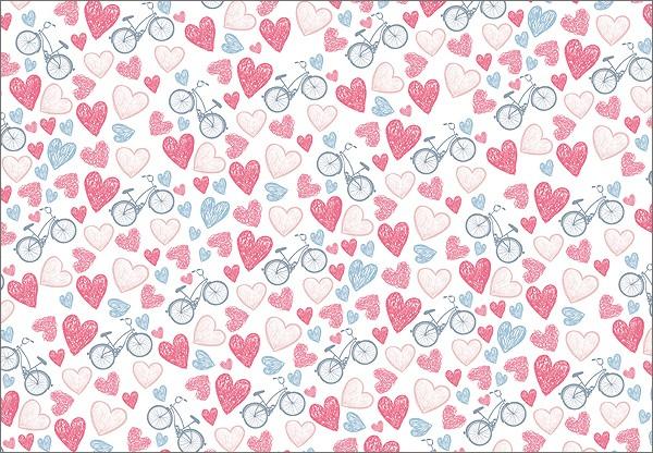 Love Bikes 50x70
