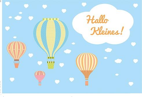 Umschlagk. Heißluftballons Hallo Kleines