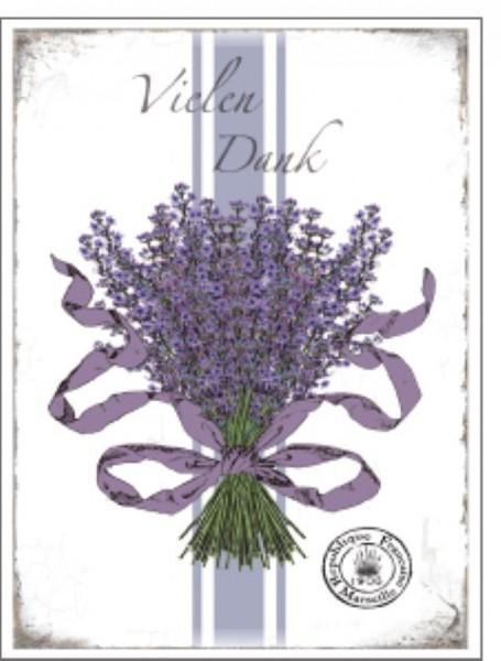 Minik. Lavendel Vielen Dank
