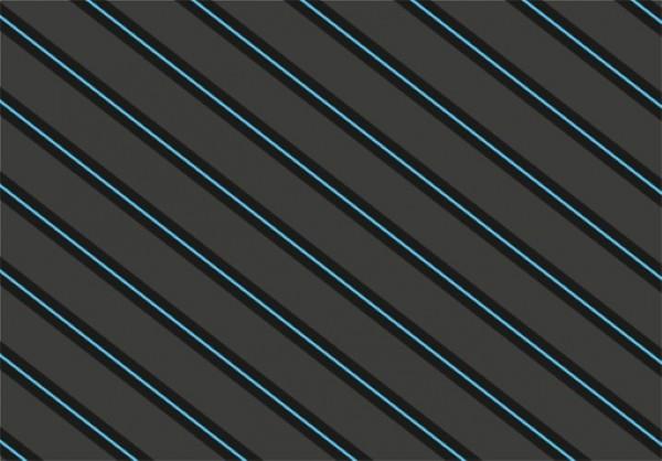 Grey Blue Stripes 50x70