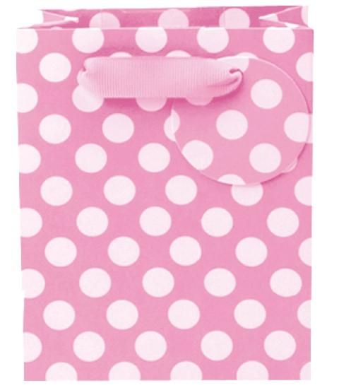 Pink Spots Bag mini