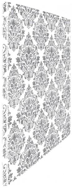 Schnellhefter silver Tapesty