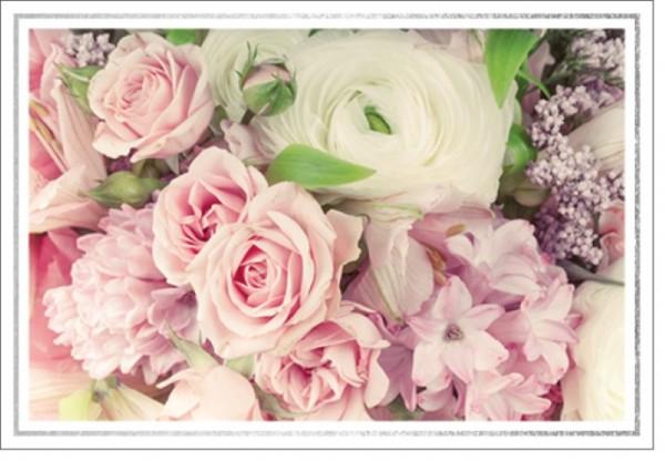 Umschlagk. LM Blumenstrauß