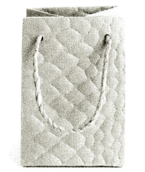 Snake Bag creme 11x8x8