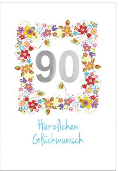 Umschlagk. 90 Herzlichen Glückwunsch