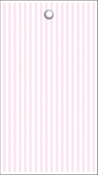 Tags Streifen rosa