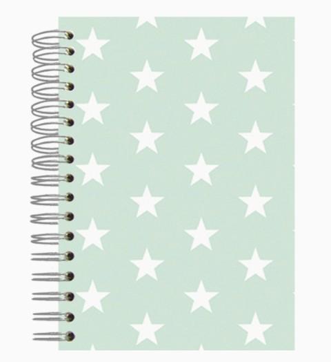 Buch A5 Mint Stars