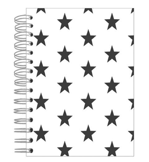 Buch A5 Black Stars