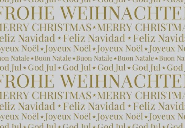 Grey Christmas United 50x70