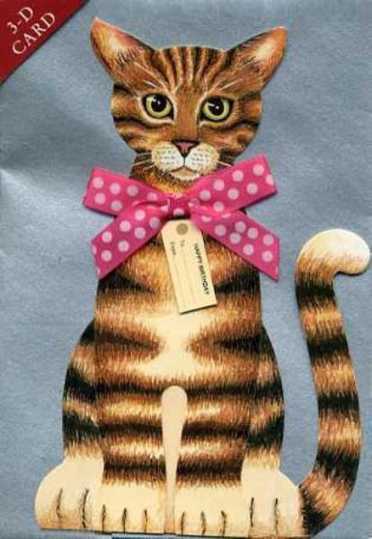 Umschlagk. 3-D Tabbycat