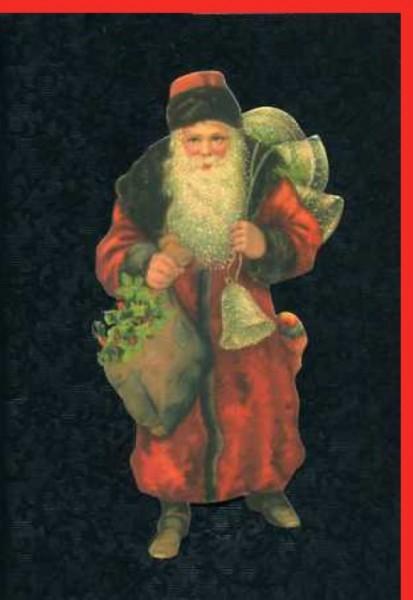 Umschlagk. Santa with Bells