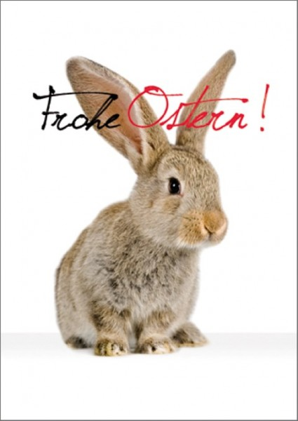 Postk. Frohe Ostern