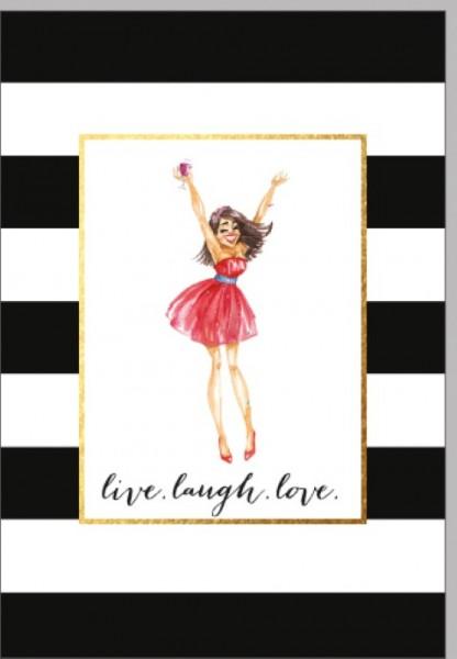 Umschlagk. live.laugh.love