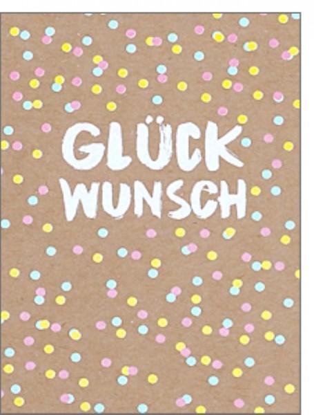 Minik. pp Glückwunsch Konfetti