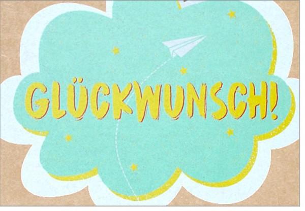 Umschlagk. pp Glückwunsch