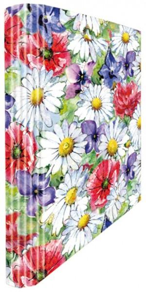 Ringmappe A4 Fleurs