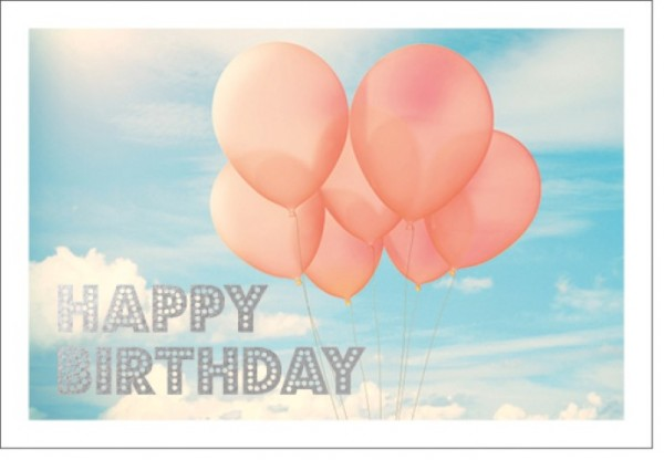 Umschlagk. LM Happy Birthday