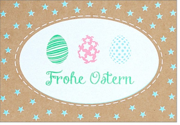 Umschlagk. pp Frohe Ostern