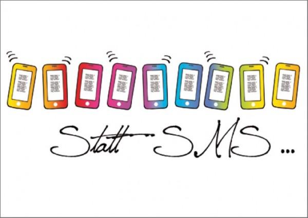 Postk. Statt SMS