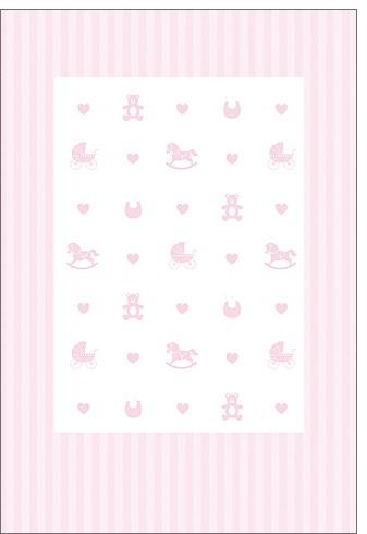 Umschlagk. Pink Babytoys