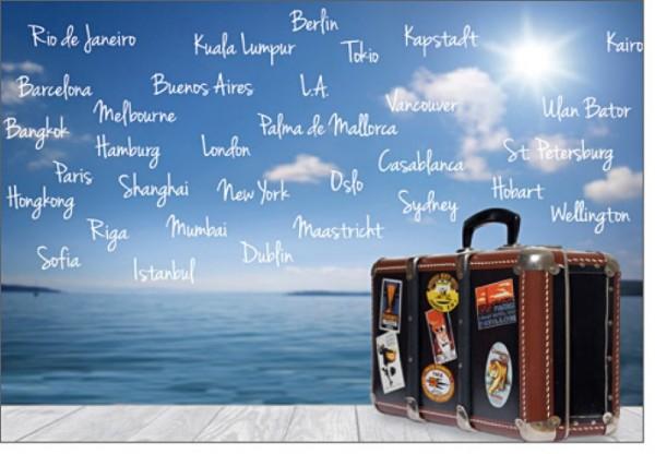 Umschlagk. Weltreise