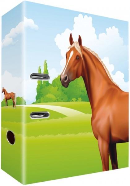 Ringordner A4 Pferde