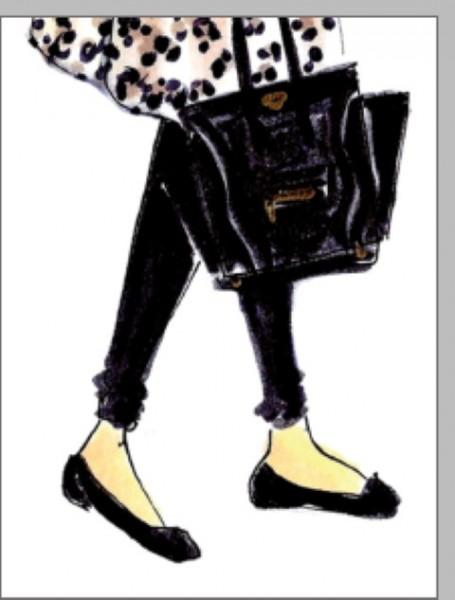 Minik. Bag and Legs